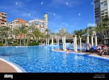 Swimming Pool Sol Pelicanos Ocas Hotel Calle Gerona