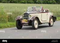 Peugeot 201 Roadster of 1932 in the Tour de Bretagne 2014 ...