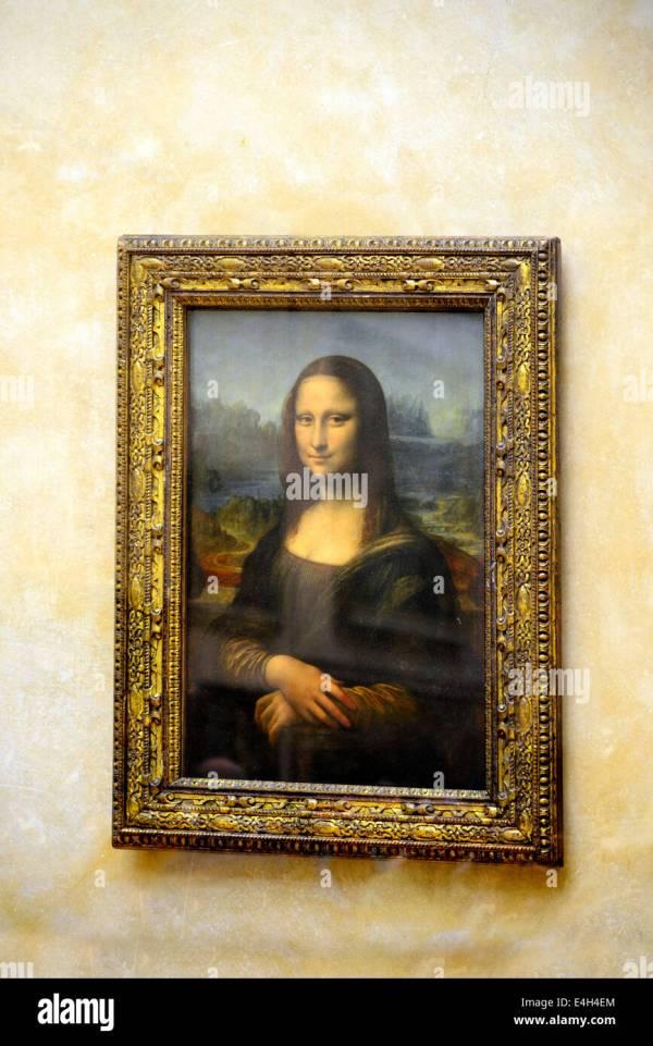 Louvre Museum Mona Lisa Painting
