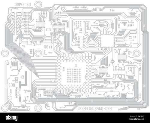 small resolution of circuit board computer drawing electronic motherboard with chips industry technical background