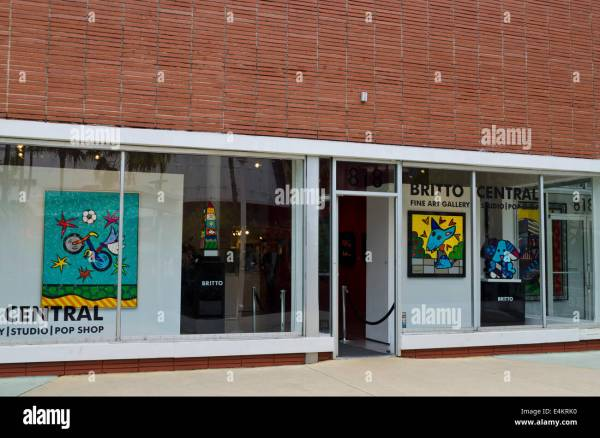 Art Gallery Window Displays