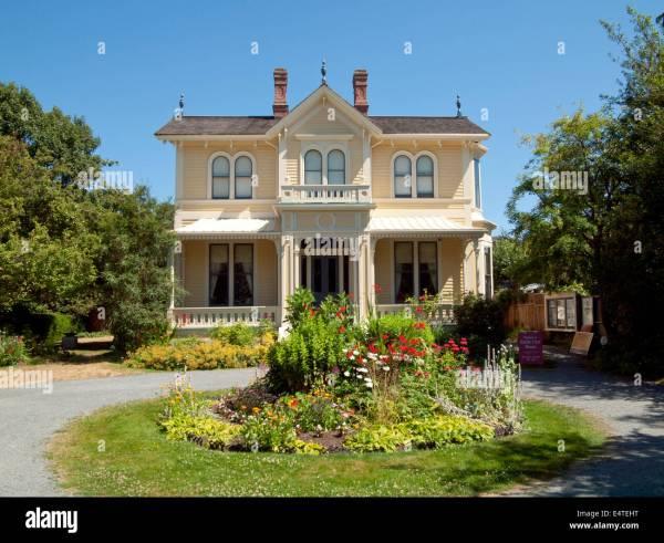 Emily Carr House Victoria British Columbia Stock