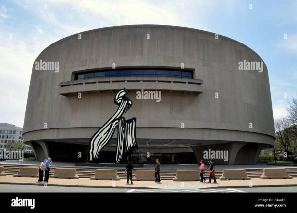 Washington Dc Hirshhorn Museum Of Art Designed