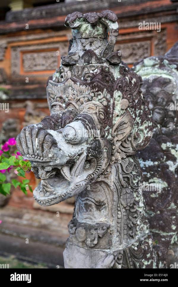 Carved Stone Statue Stock & - Alamy