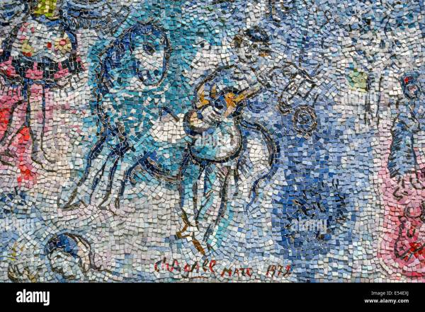 Four Seasons Mosaic Marc Chagall