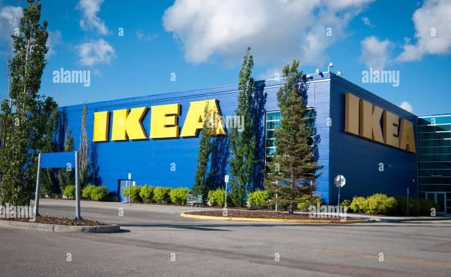 An Ikea Store At South Edmonton Common In Edmonton