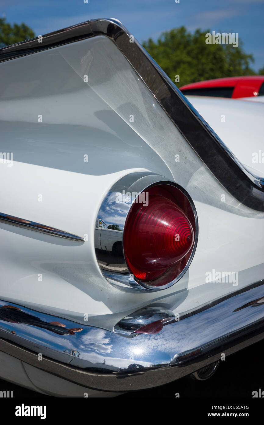 hight resolution of the rear brake lights of the buick lesabre first generation 27th oldtimer day
