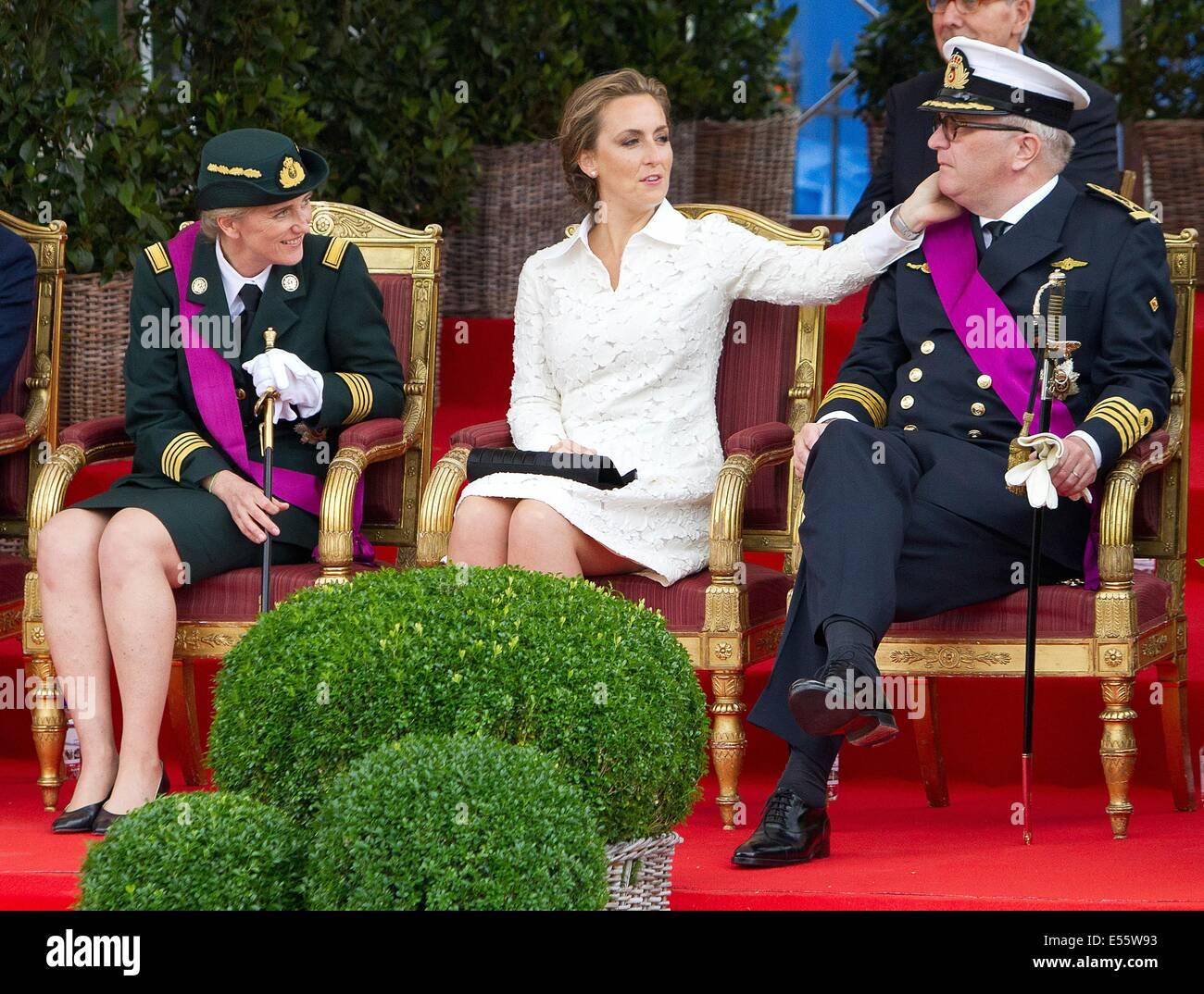 LR Princess Astrid Princess Claire and Prince Laurent