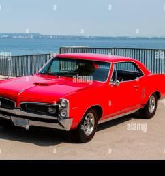 1967 pontiac lemans coupe stock image [ 1300 x 956 Pixel ]