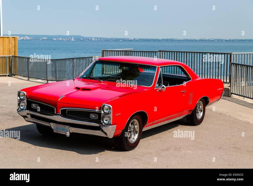 medium resolution of 1967 pontiac lemans coupe stock image