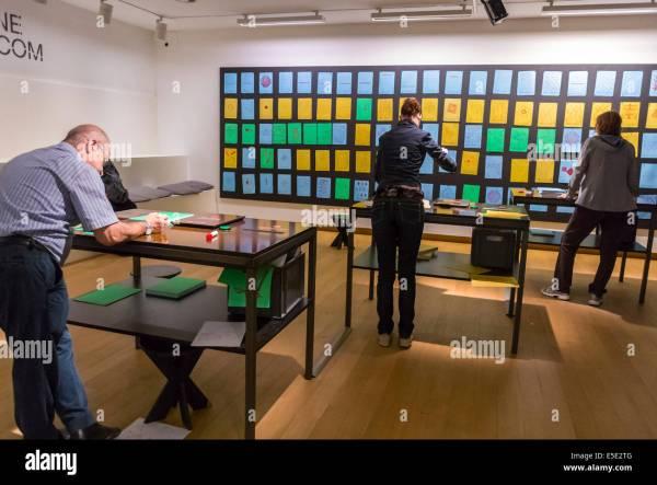 Interactive Museum Exhibition Stock &
