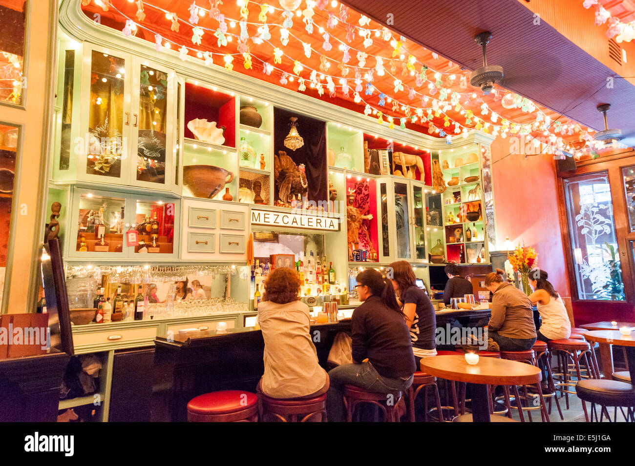 Casa Mezcal in Orchard Street on the Lower East Side New York City Stock Photo 72311130  Alamy