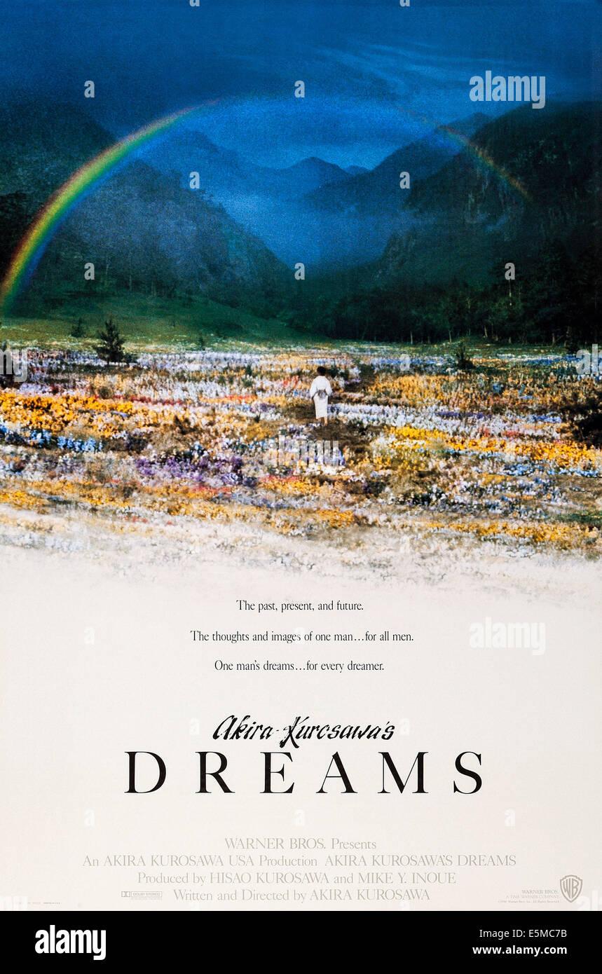 https www alamy com stock photo dreams aka akira kurosawas dreams us poster art 1990 warner brotherscourtesy 72363407 html