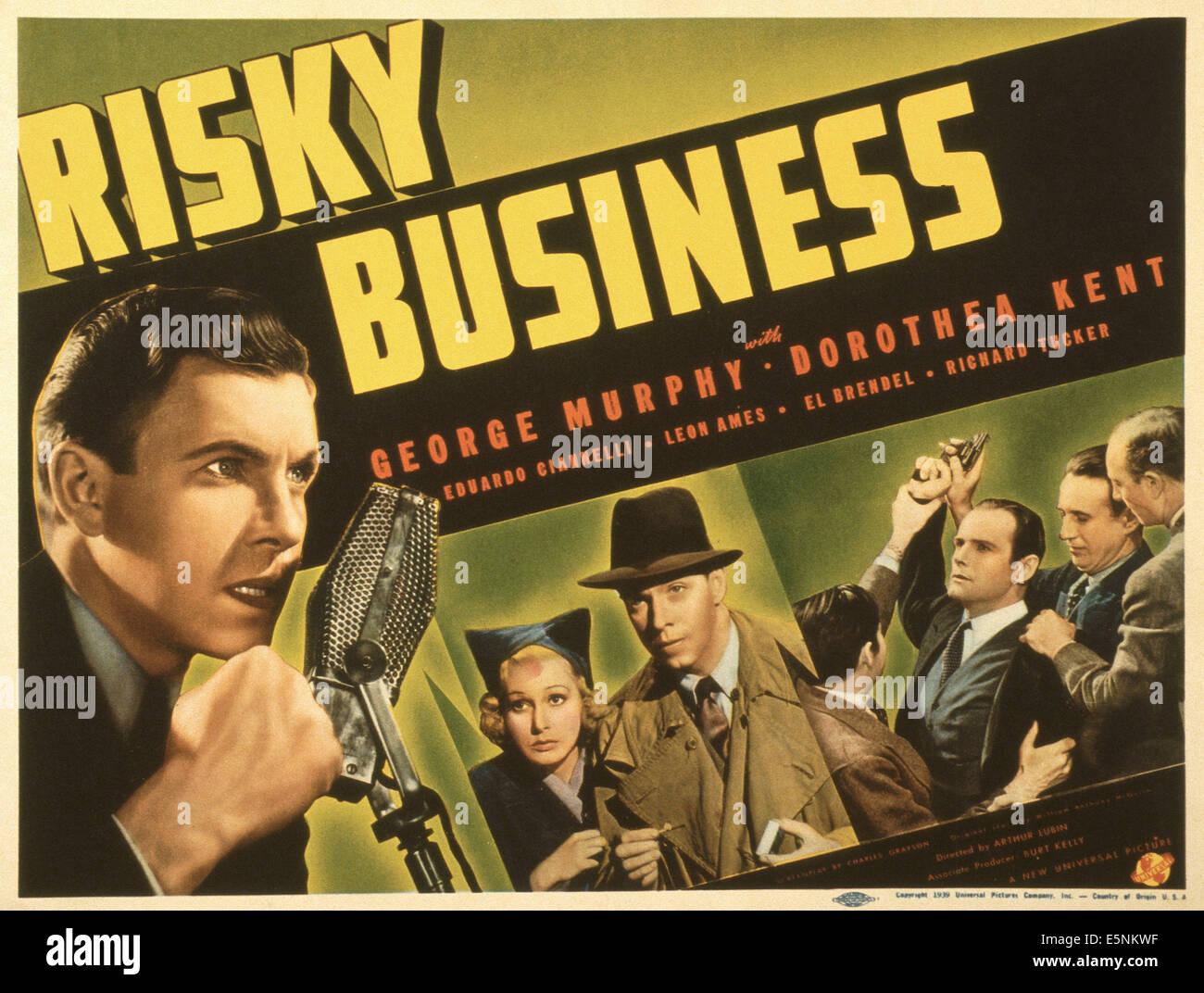 risky business stock photos