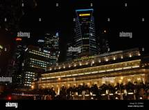 Singapore Five-star Fullerton Hotel And Maybank Tower