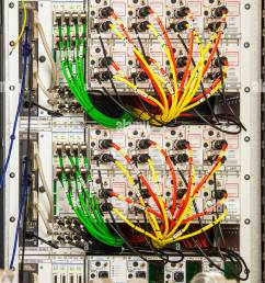 complex wiring stock photos u0026 complex wiring stock images alamya maze of colour coded electric [ 866 x 1390 Pixel ]