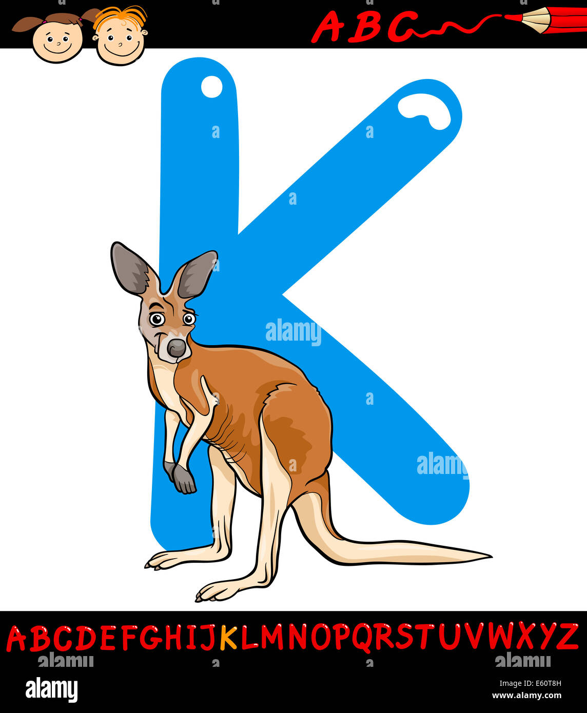 K Is For Kangaroo Stock Photos Amp K Is For Kangaroo Stock