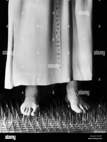 Man Walking Barefoot