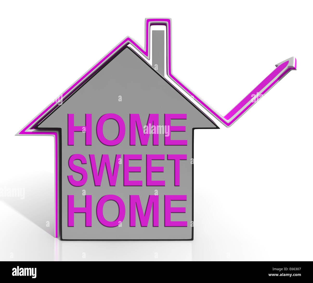 Another word for, opposite of, meaning of, rhymes with, sentences with, find word forms, pronounce, translate from english, translate to. Home Sweet Home House Meaning Homely And Comfortable Stock Photo Alamy