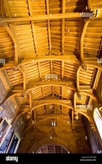 Wood Beam Ceiling Stock Photos & Wood Beam Ceiling Stock