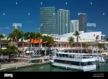 Tour Boat Quay Bayside Marketplace Marina Downtown Miami