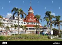 Historic Hotel Del Coronado Built In 1888 San Diego