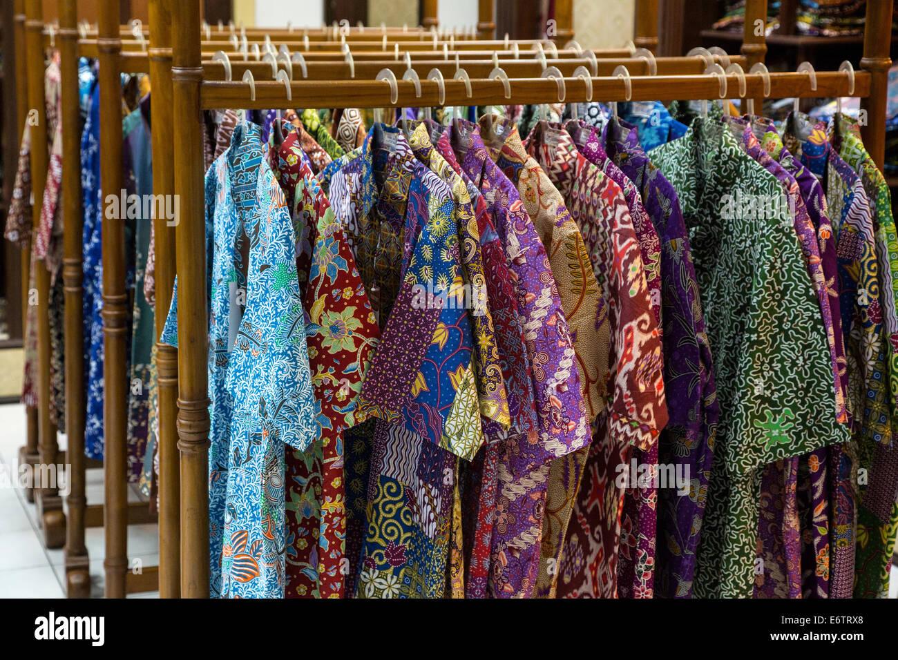 Batik Shirt Stock Photos  Batik Shirt Stock Images  Alamy