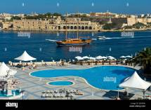 View Pool Area Of Grand Hotel Excelsior Malta