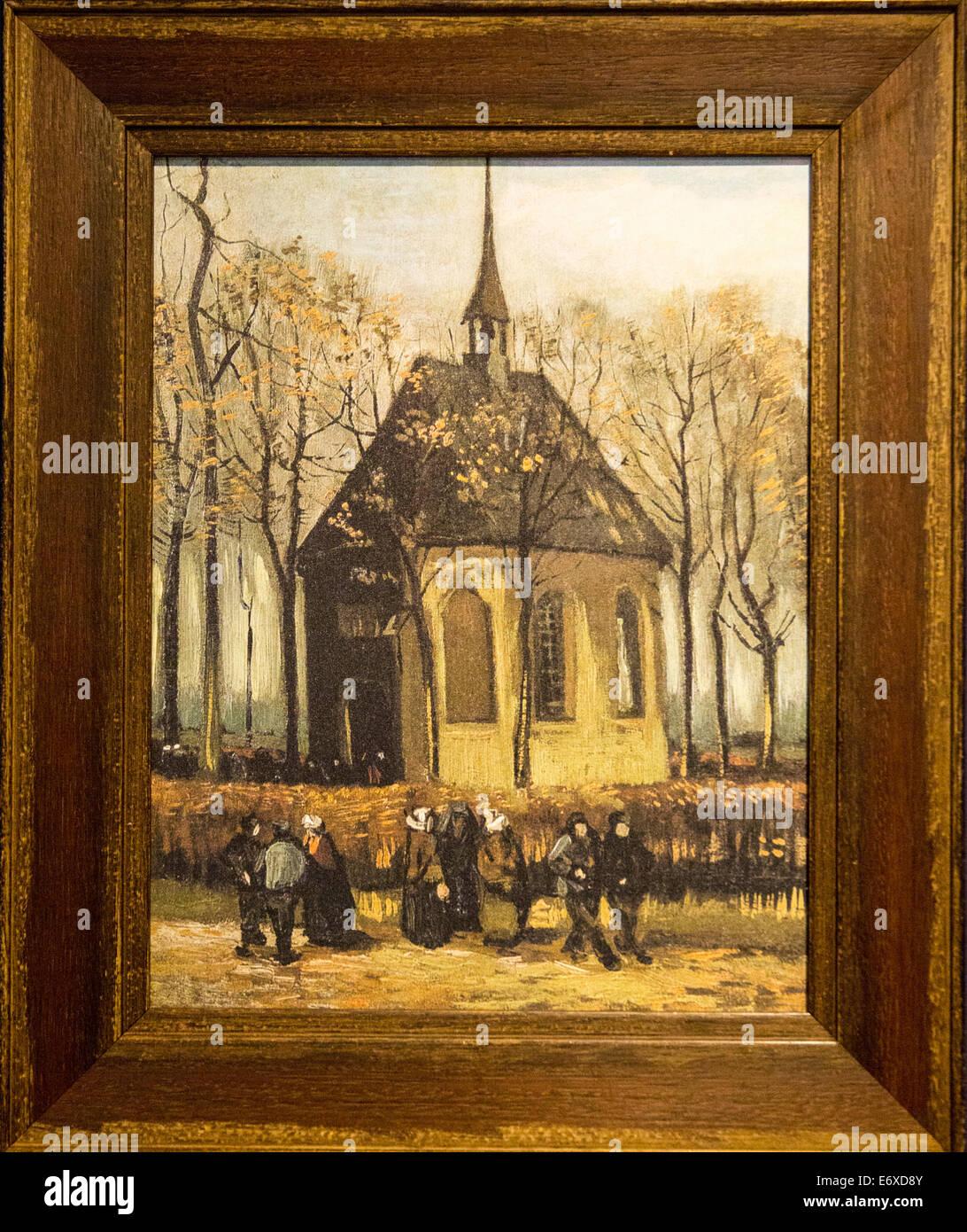 Netherlands. Nuenen. Village of Vincent van Gogh. Museum called Stock Photo: 73110603 - Alamy