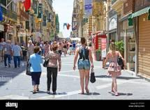 Republic Street Valletta Malta