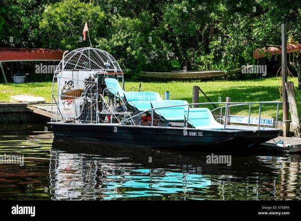 Small Engine Air Boat - Year of Clean Water