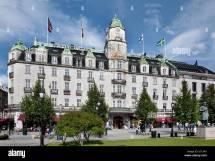 Grand Hotel Oslo Norway Stock Royalty Free