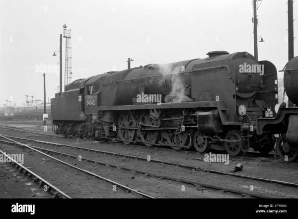 Original British Rail Steam Engine West Country Class