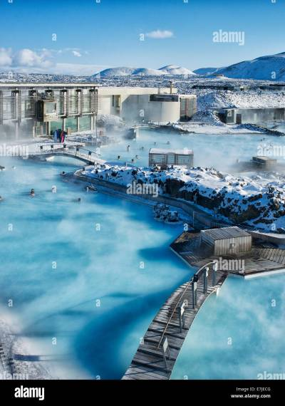 Blue lagoon, Blue, Polar sea, Grindavik, Gruindavik ...