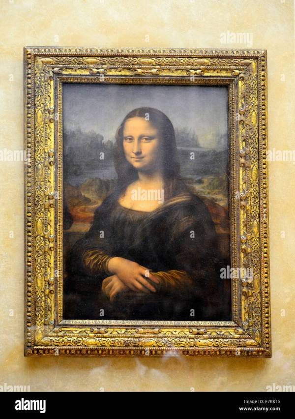 Louvre Museum Mona Lisa Painting