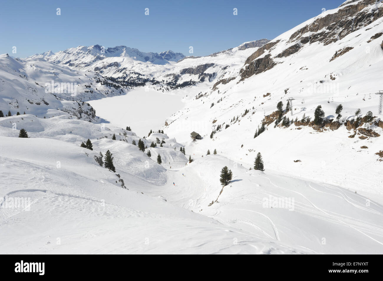 buy ski lift chair jewelry stand switzerland, alpine, alps, lift, clear, cold, country, day stock photo: 73626976 - alamy