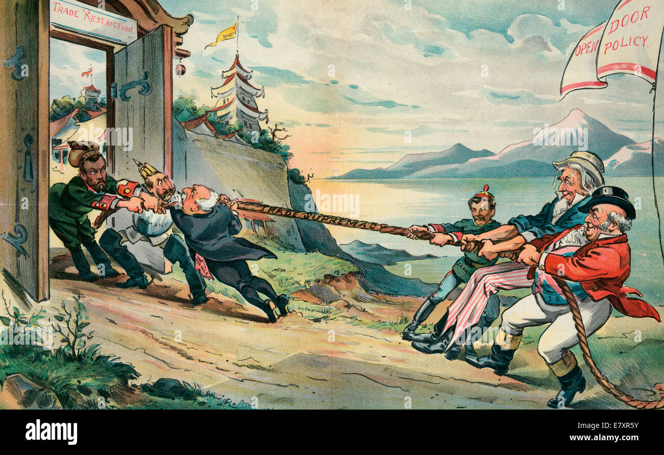 The Tug Of War In The Far East