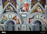 "Reproduction of the ""Sistine Chapel"" ceiling in the Church ..."