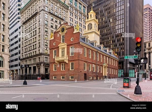 State House Boston Stock &