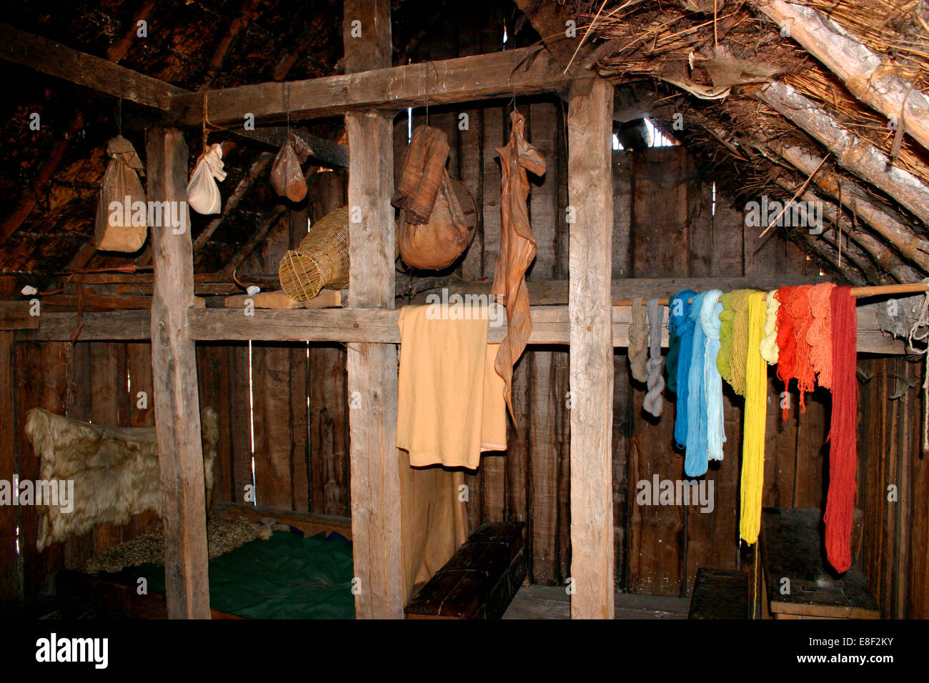 House Interior West Stow Country Park And Anglo Saxon