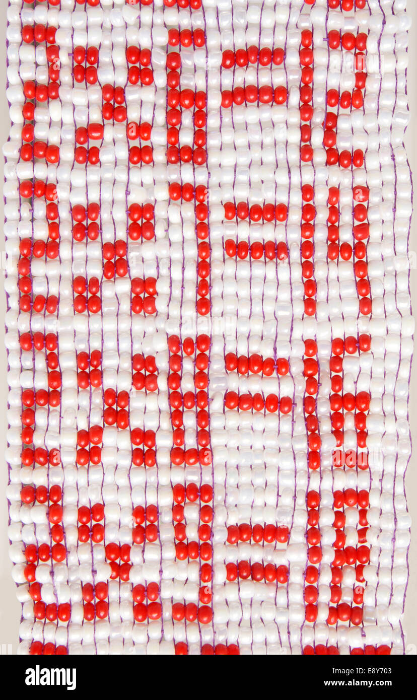 Multiplication Table From Beads