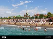Beach With Kremlin Palace Hotel Kundu Aksu Turkish