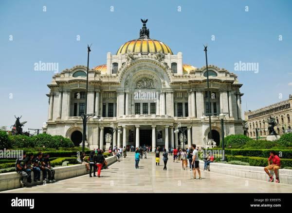 Palacio De Bellas Artes Palace Of Fine Arts Museum And