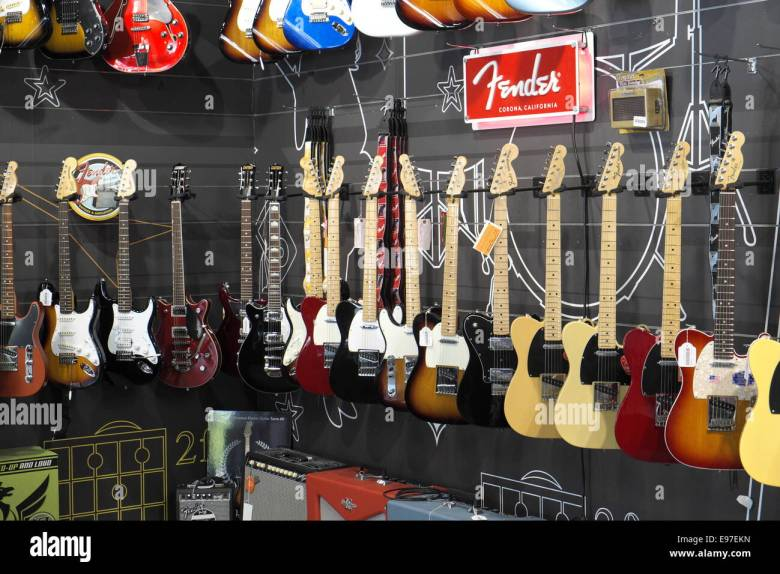 music store in north sydney selling a range of instruments including