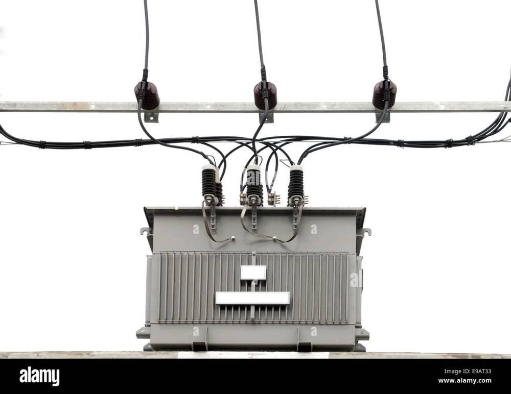 medium resolution of electric transformer stock image