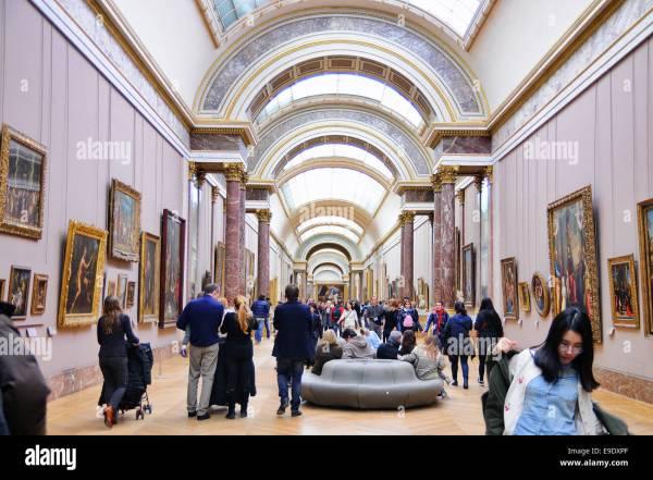 Louvre Paris Stock & - Alamy