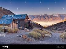 Abandoned American Hotel Cerro Gordo Ghost Town In Inyo