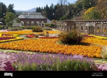 Biltmore Estate Gardens In Autumn Asheville North