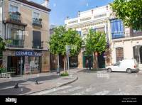 Ceramic tile shops in Triana, Seville, Spain Stock Photo ...