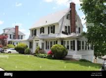 New York Dutch Colonial Revival House